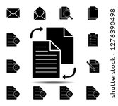 file sharing in style icon....