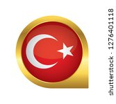 flag of turkey  location map... | Shutterstock .eps vector #1276401118