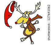 hand drawn cartoon funny...   Shutterstock .eps vector #127641062