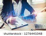 investor or business man... | Shutterstock . vector #1276441048