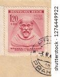 Deutsches reich circa 1943 a...