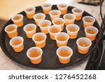 samples of a jellylike... | Shutterstock . vector #1276452268