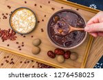 chinese traditional cuisine... | Shutterstock . vector #1276458025