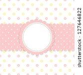 baby vector background   Shutterstock .eps vector #127646822