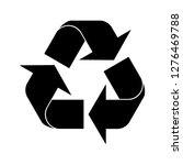 recycle vector icon recycling...