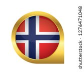 flag of norway  location map... | Shutterstock .eps vector #1276471048