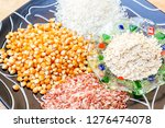 various carbohydrate source  | Shutterstock . vector #1276474078