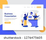 landing page template of... | Shutterstock .eps vector #1276475605
