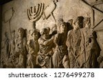Wall Relief On Arch Of Titus...