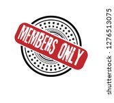 circle rubber stamp with the...   Shutterstock .eps vector #1276513075