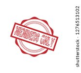circle rubber stamp with the...   Shutterstock .eps vector #1276513102