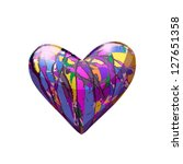 Brilliant Purple Heart