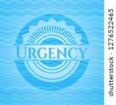 urgency water style badge.   Shutterstock .eps vector #1276522465