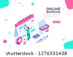 health collection. clinic... | Shutterstock .eps vector #1276531438