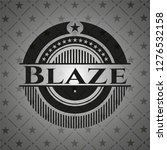 blaze realistic dark emblem | Shutterstock .eps vector #1276532158