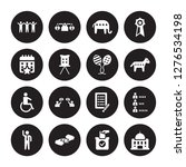 16 vector icon set   freedom ... | Shutterstock .eps vector #1276534198
