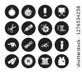16 vector icon set   embroidery ... | Shutterstock .eps vector #1276534258