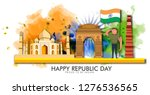illustration of happy indian...   Shutterstock .eps vector #1276536565