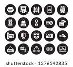 20 vector icon set   new  euro  ... | Shutterstock .eps vector #1276542835