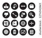 16 vector icon set   download ... | Shutterstock .eps vector #1276542865