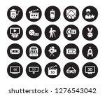 20 vector icon set   cinema... | Shutterstock .eps vector #1276543042