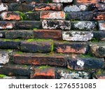 photo background image of old...   Shutterstock . vector #1276551085