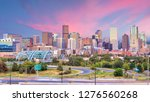 panorama of denver skyline long ... | Shutterstock . vector #1276560268