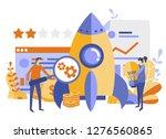 startup  idea  teamwork ... | Shutterstock .eps vector #1276560865