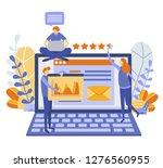 engineering and iot  global... | Shutterstock .eps vector #1276560955