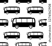 bus icon seamless pattern  bus... | Shutterstock .eps vector #1276562908