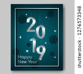 new year night banner flyer... | Shutterstock . vector #1276573348