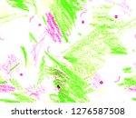 cute crayon texture. cute large ...   Shutterstock . vector #1276587508