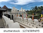 temple of the sacred tooth... | Shutterstock . vector #1276589695
