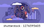 big data vector illustration.... | Shutterstock .eps vector #1276595605