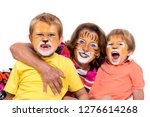 children's group and... | Shutterstock . vector #1276614268