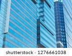 exterior of modern office... | Shutterstock . vector #1276661038