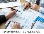 executive business people team... | Shutterstock . vector #1276663738