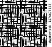 scandinavian abstract grunge... | Shutterstock .eps vector #1276675585