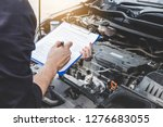 services car engine machine... | Shutterstock . vector #1276683055