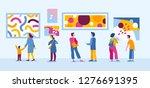 vector illustration in flat... | Shutterstock .eps vector #1276691395