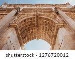Arche Of Titus In Forum Romanu...