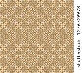 seamless arabic geometric... | Shutterstock .eps vector #1276729978