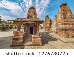 ancient stone temples of... | Shutterstock . vector #1276730725