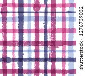 crossed lines chequered pattern ... | Shutterstock .eps vector #1276739032