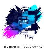 abstract vector design...   Shutterstock .eps vector #1276779442