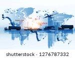 business of worldwide   ... | Shutterstock . vector #1276787332