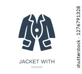 jacket with pockets icon vector ... | Shutterstock .eps vector #1276791328