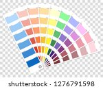 color palette guide. book for...