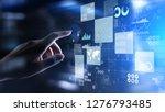 business intelligence analyst... | Shutterstock . vector #1276793485