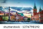 panoramic view on royal castle  ... | Shutterstock . vector #1276798192